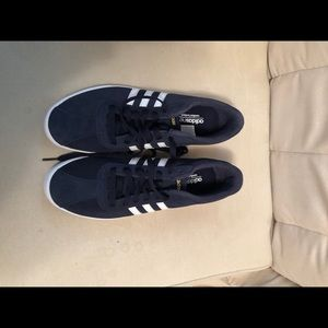 Blue Adidas Sneakers
